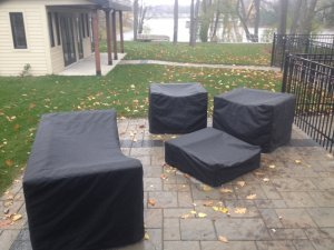 Housses de meubles de patio