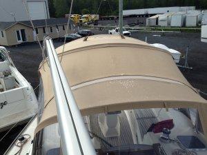 Transition de toit pour voilier